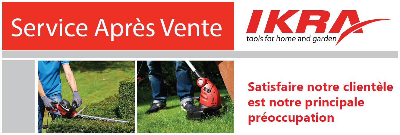 Service Apres vente IKRA France